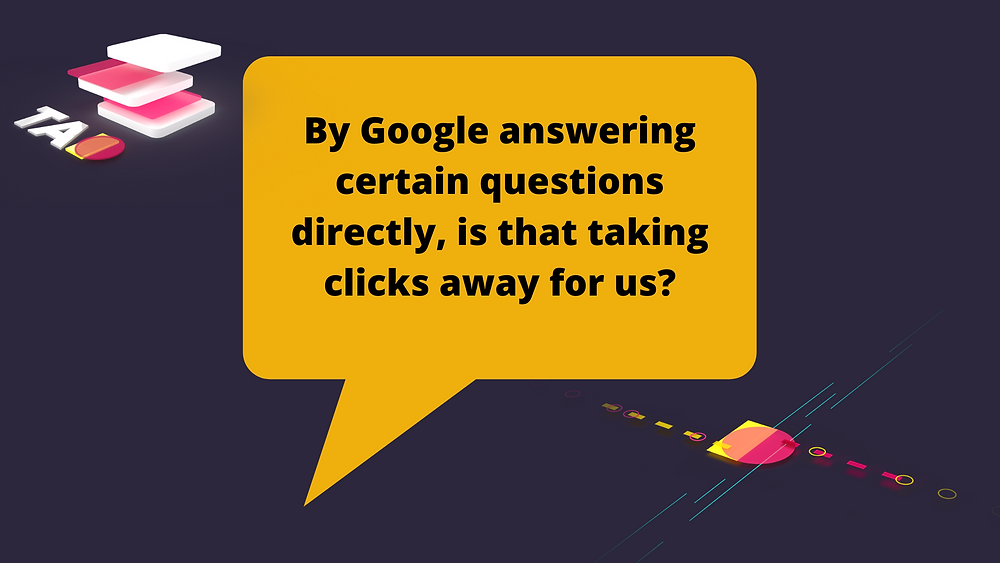 Google answering questions