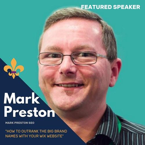 Mark Preston, Speaker at WIXCon2019