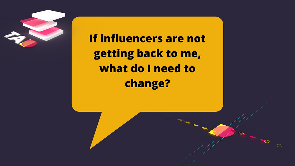 rejection from influencers