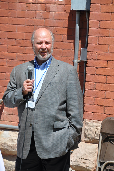 Jerry Klinger, President and Founder of the Jewish American Society for Historic Preservation