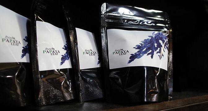 飛騨産の800mパパイヤ葉茶