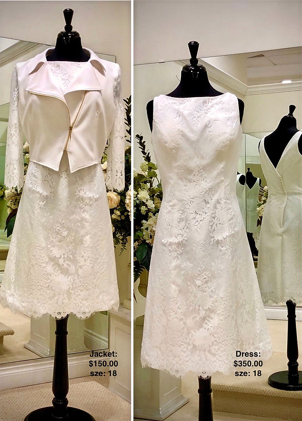 Sample Sale Wedding Gown Size 18