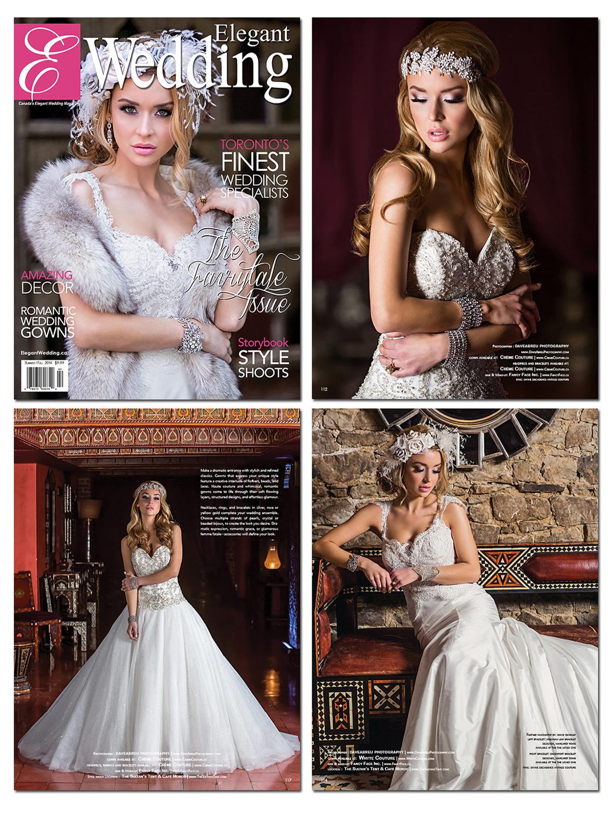 Elegant Wedding Spread