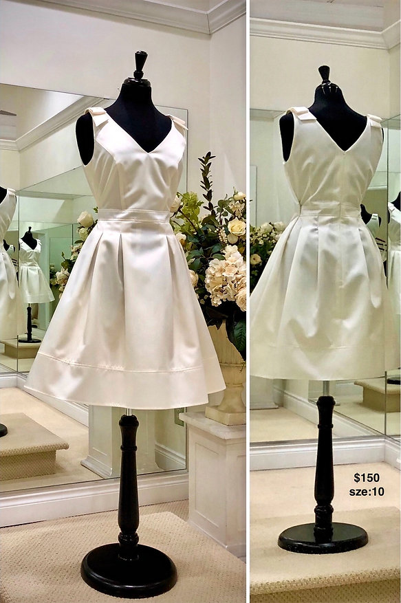 Sample Sale Wedding Gown Size 10