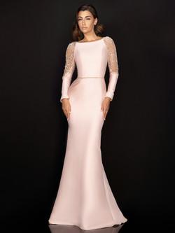 Pastel Pink Gala Gown