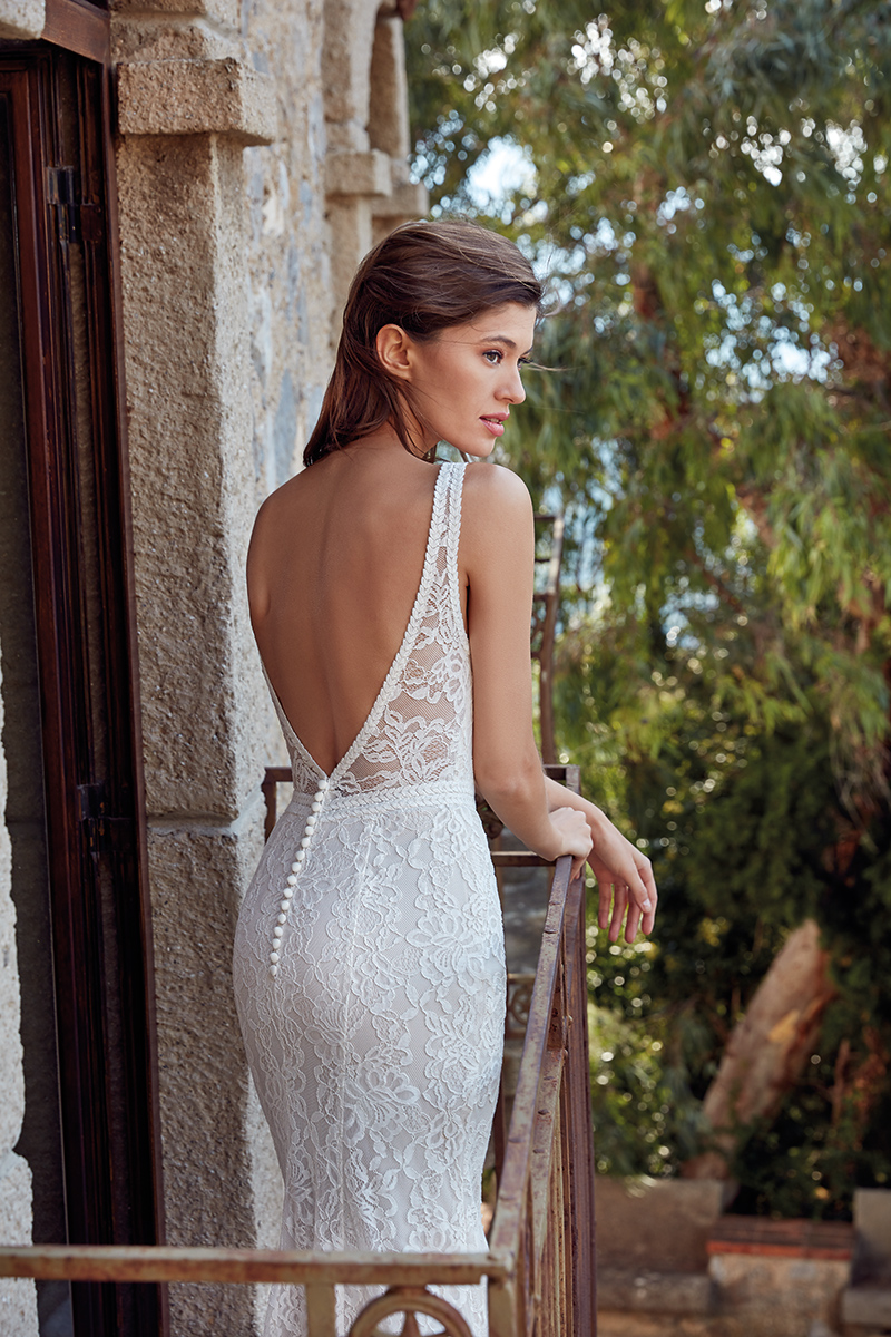 Wedding Gown Beautiful Back