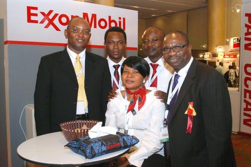 ExxonMobil Booth