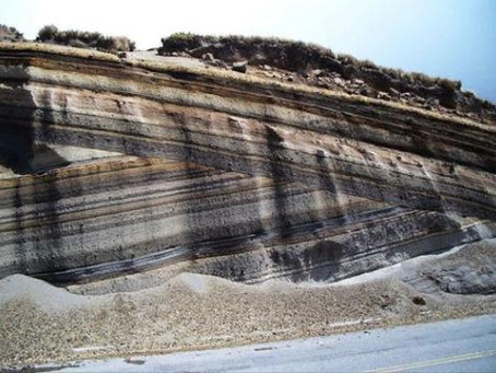 Geology at its best! Great road exposure