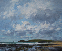 Billowing Clouds Over Constantine Bay