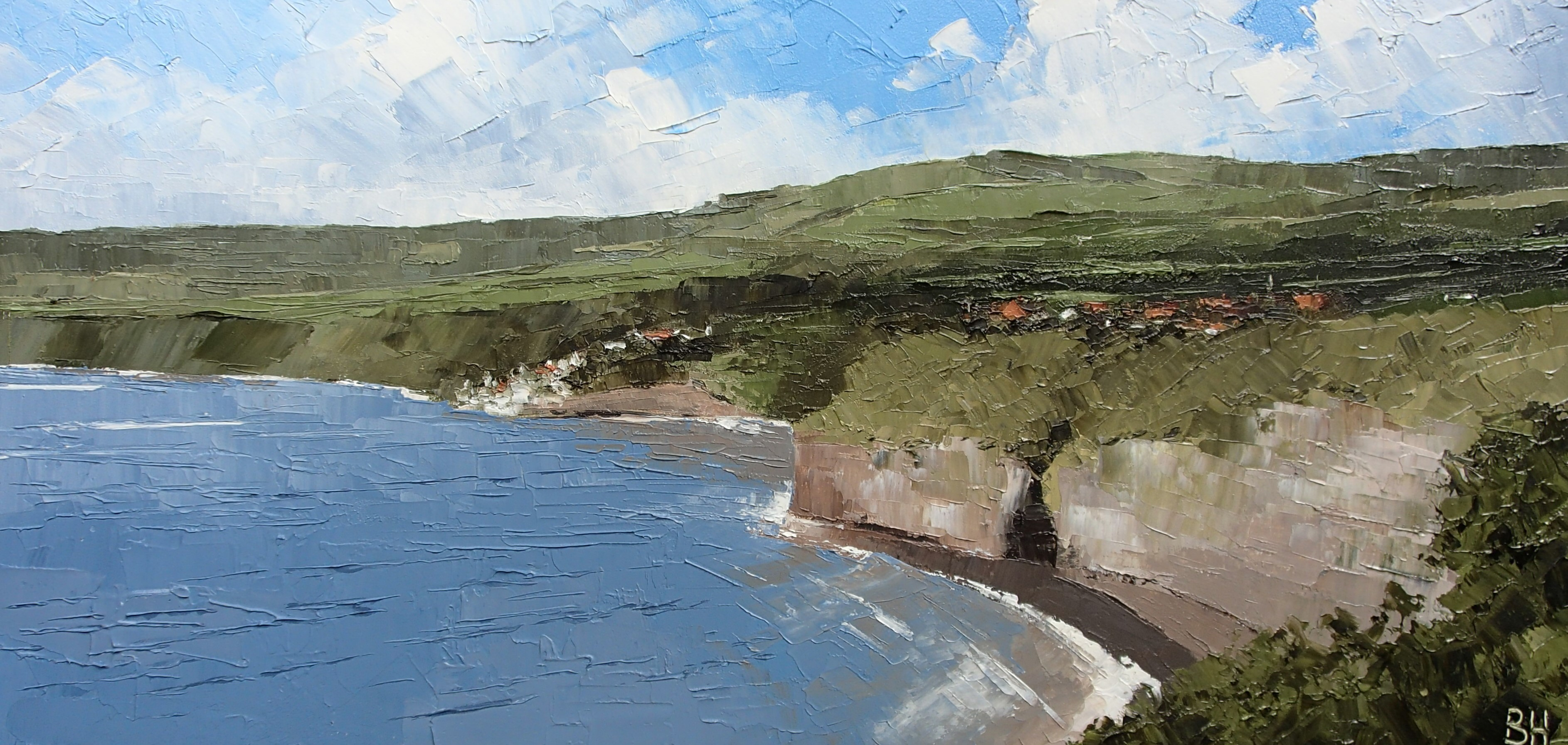 Robin Hood's Bay from Ness Point