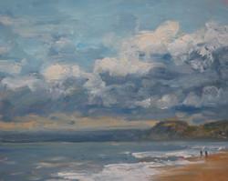 On the Beach at Burton Bradstock