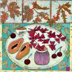 Papaya and Cherries