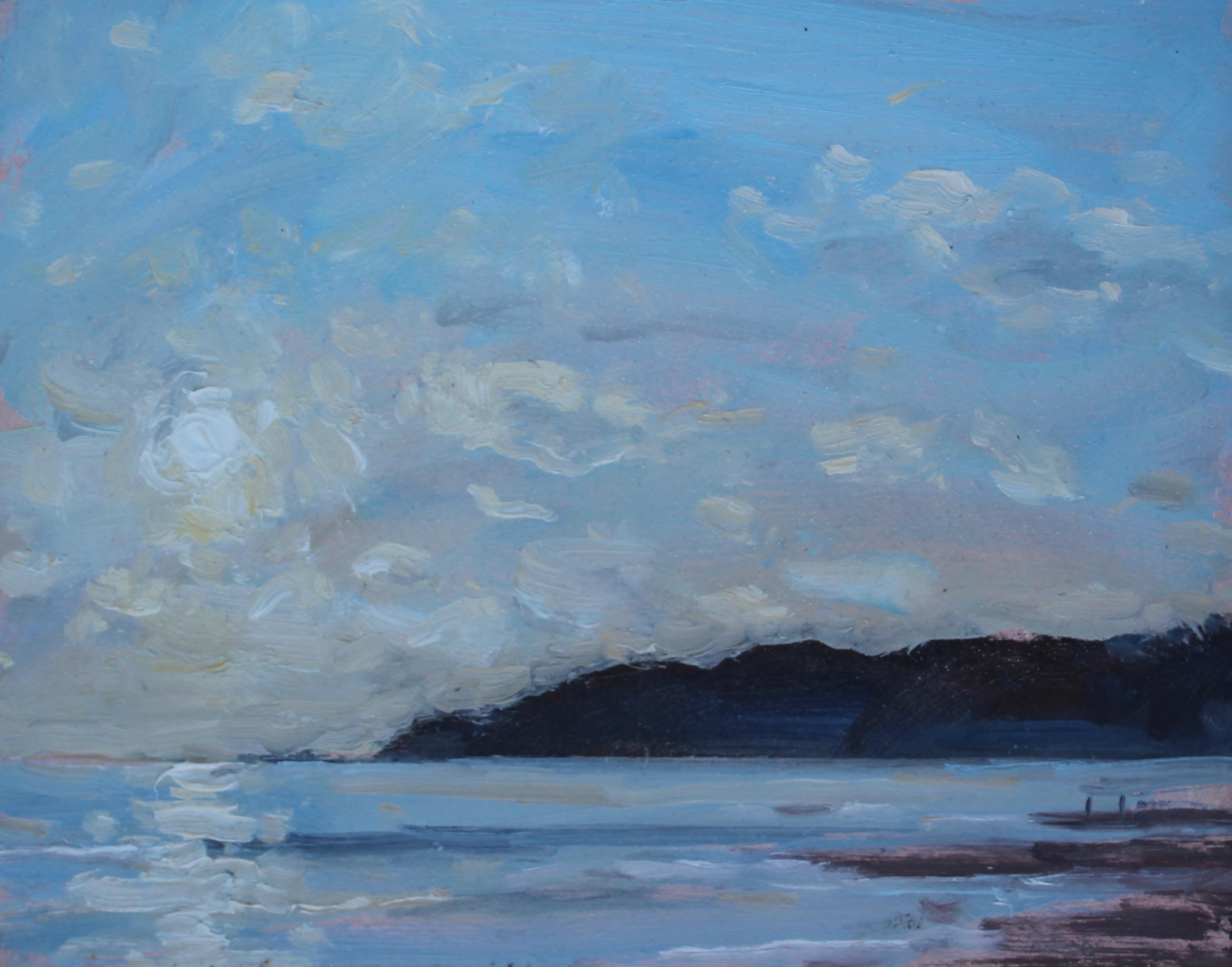 Sun Over Lyme Regis