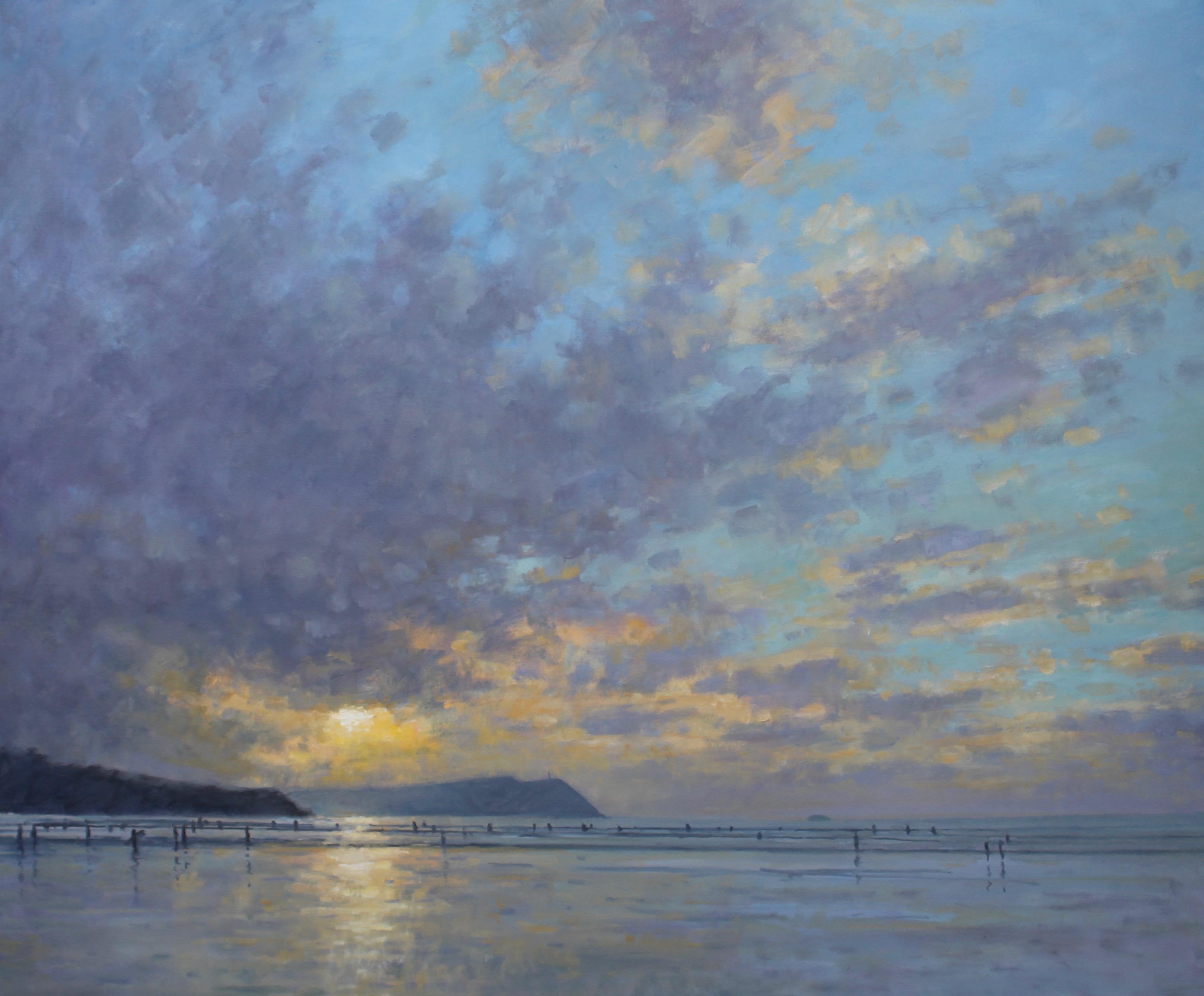 Evening light, Polzeath