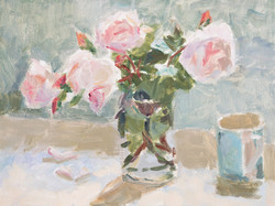Roses in Morning Light