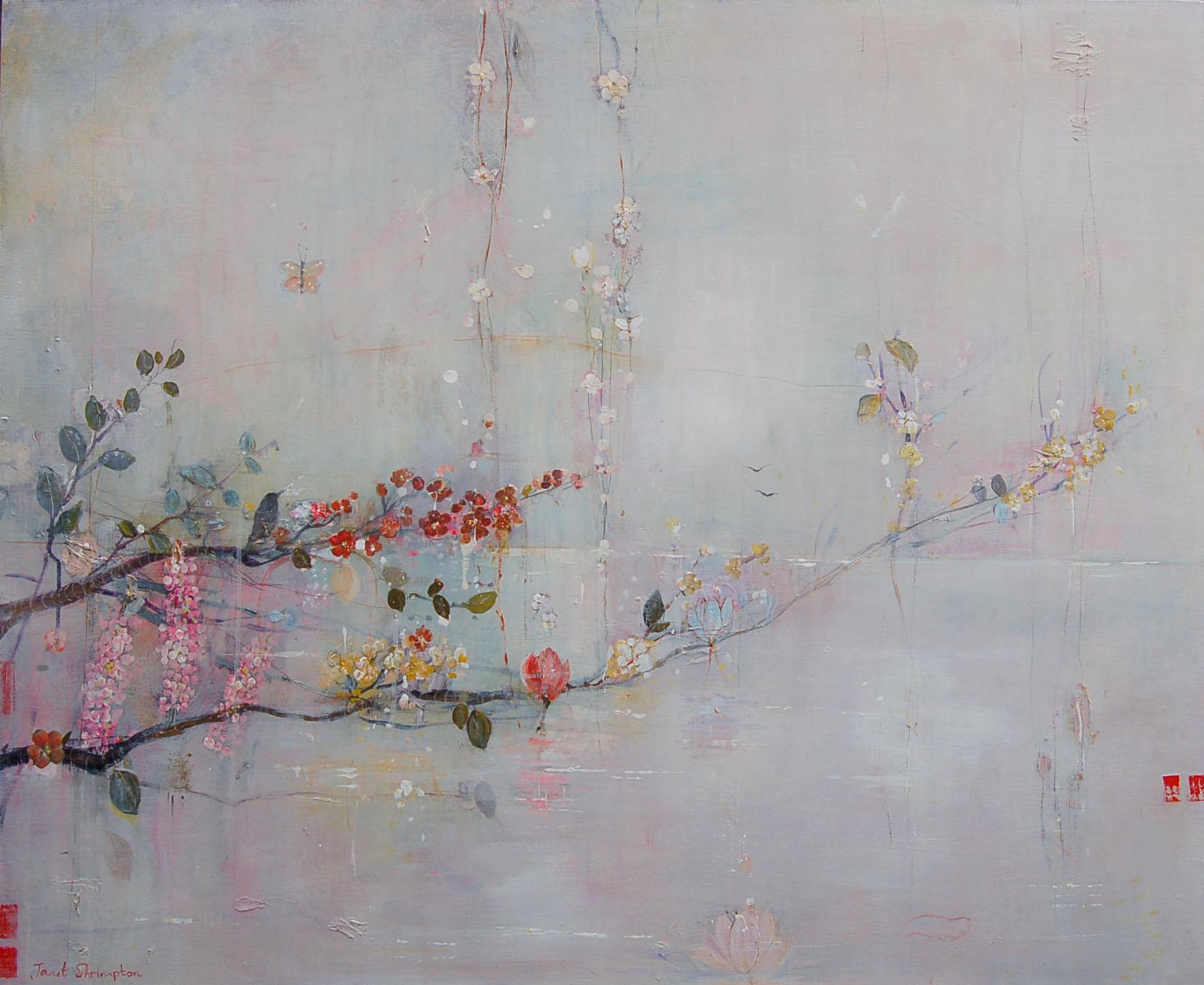 Grey blossom