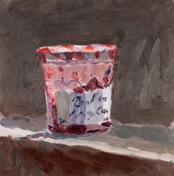Half Empty Jar of Jam