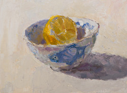 Lemon Half in a Chinese Bowl 3