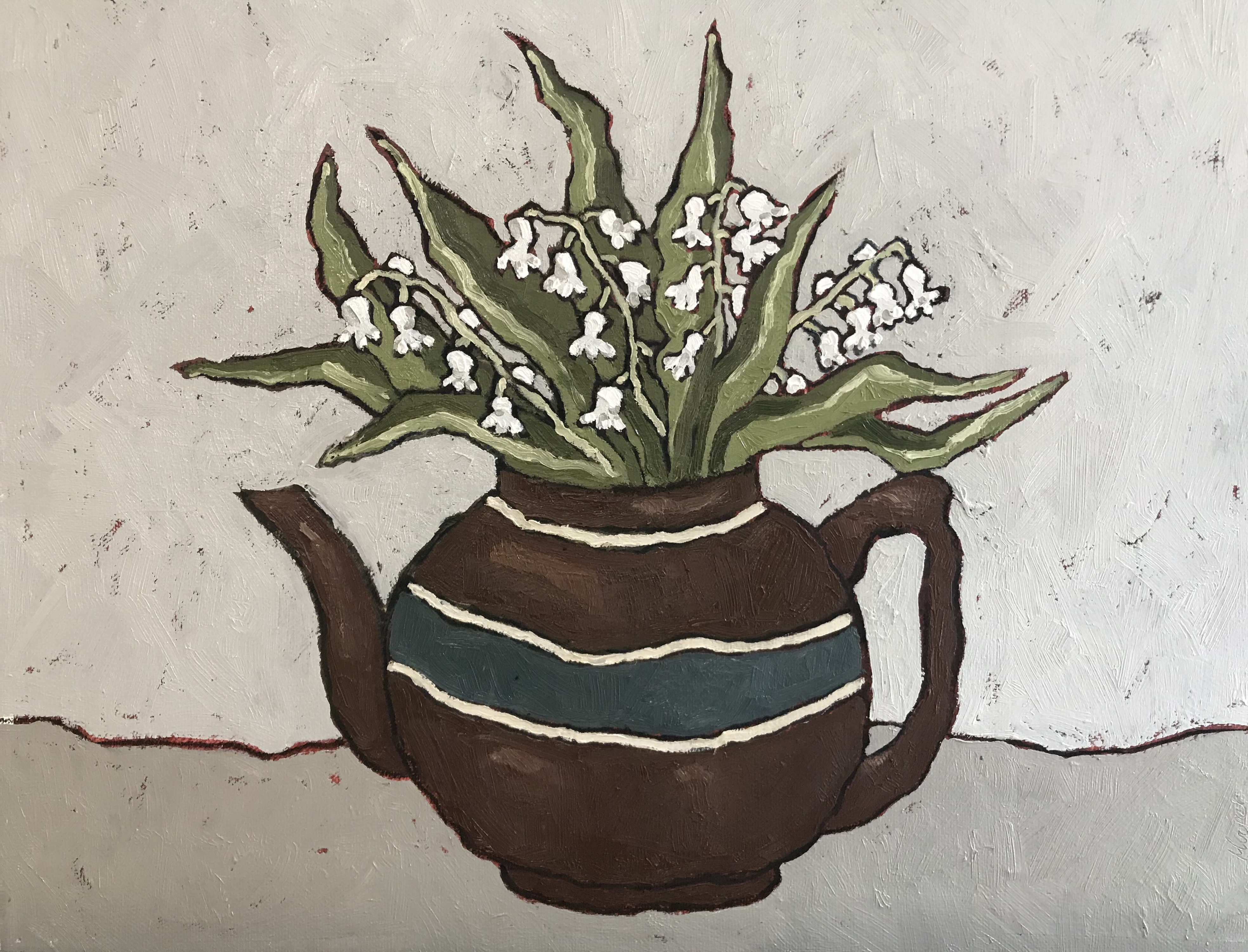 Lily in a Teapot