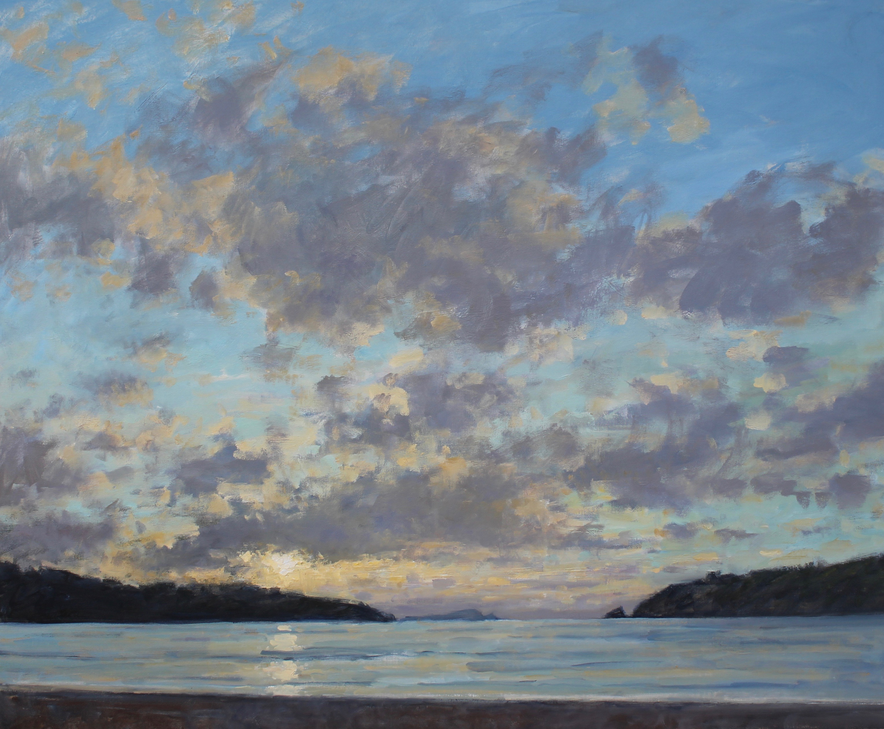 Tranquil Evening, Porth Beach,