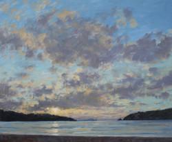Tranquil Evening, Porth Beach,