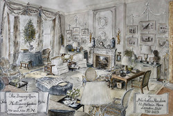 The Drawing Room at Philimore Gardens for Mr and Mrs P. N., 1986