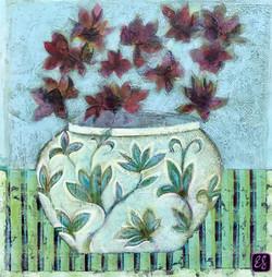 Graceful Vase of Blooms