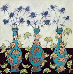 Sea Holly Vases