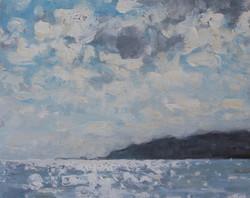 Light on the sea, Charmouth,