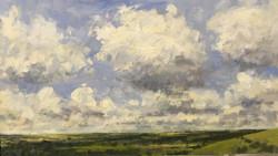 Billowing clouds near Cerne Abbas