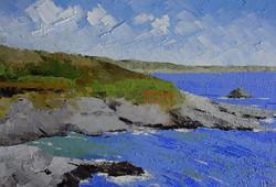 Near Pixie Cove, Intense Blue Sea