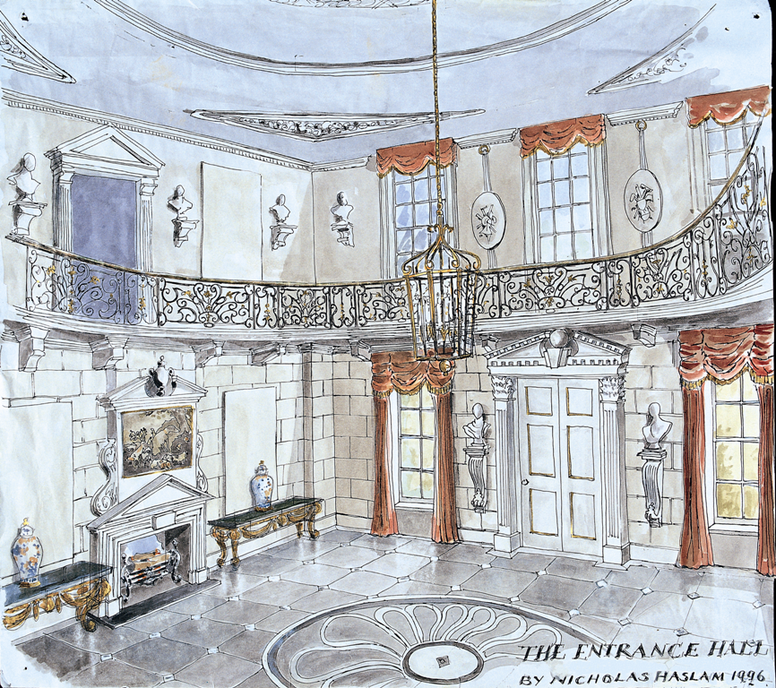 The Entrance Hall, Henley On Thames for Mr and Mrs Stuart Sapcote, 1996