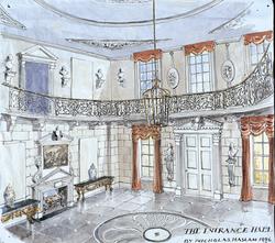 The Entrance Hall, Henley On Thames for Mr and Mrs Stuart Sapcote, 1996