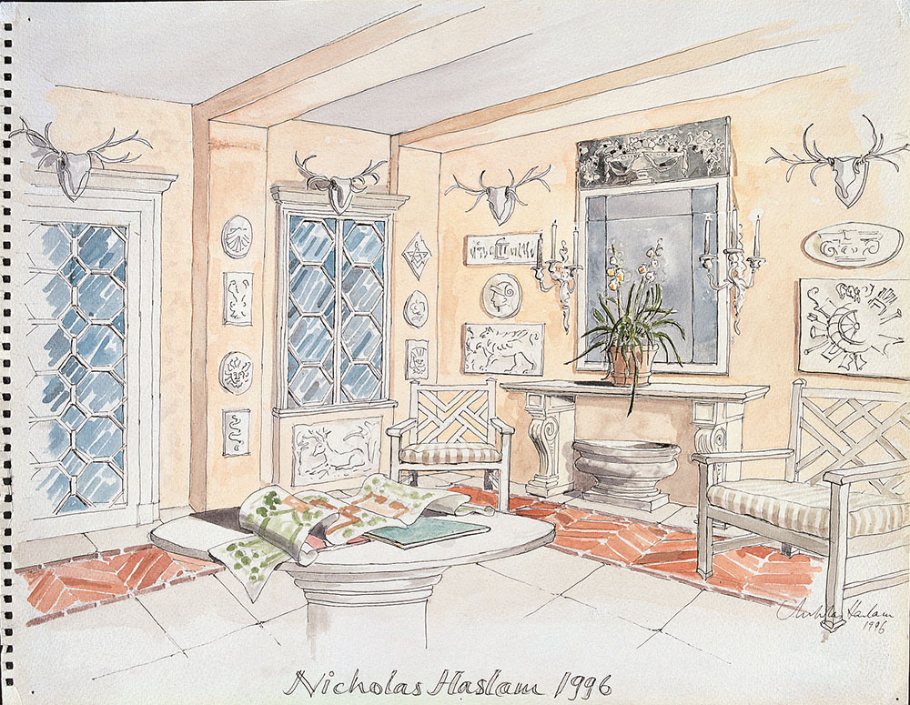 The Loggia for Mr & Mrs Sapcote, 1996