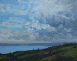 Clouds over Weymouth Bay 118