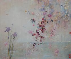 Iris & Blossom Fresco