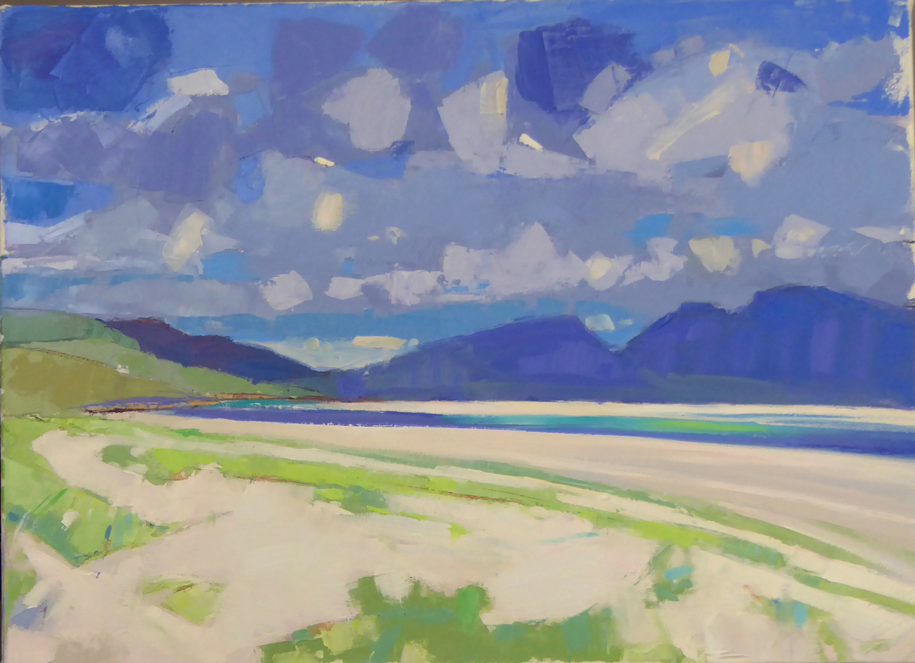 Low Tide, Luskintyre, Harris