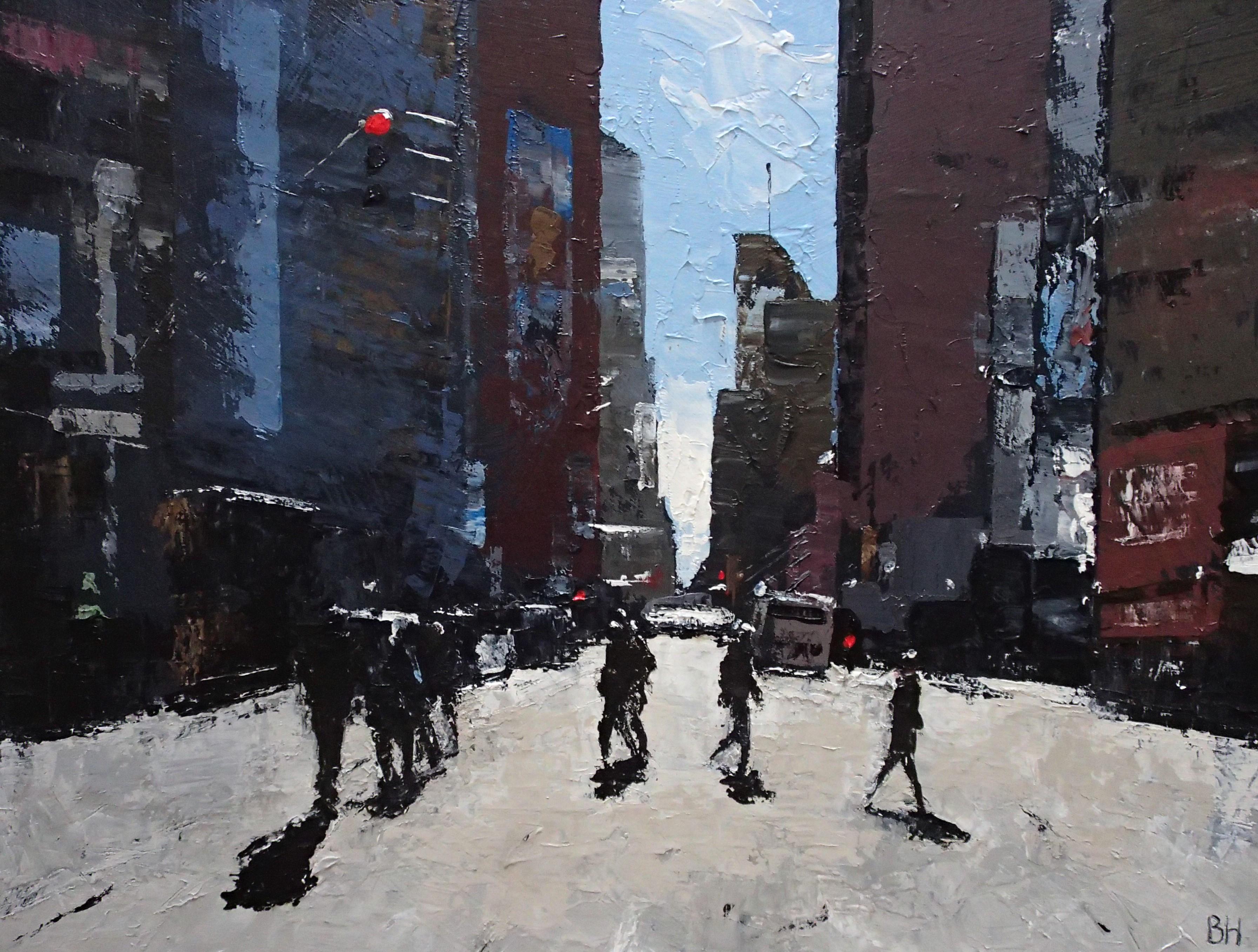 Towards the light - New York City,