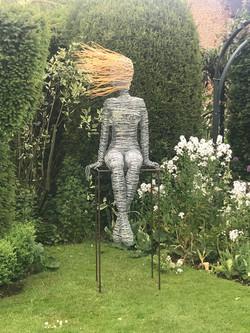 Sitting Wire Figure
