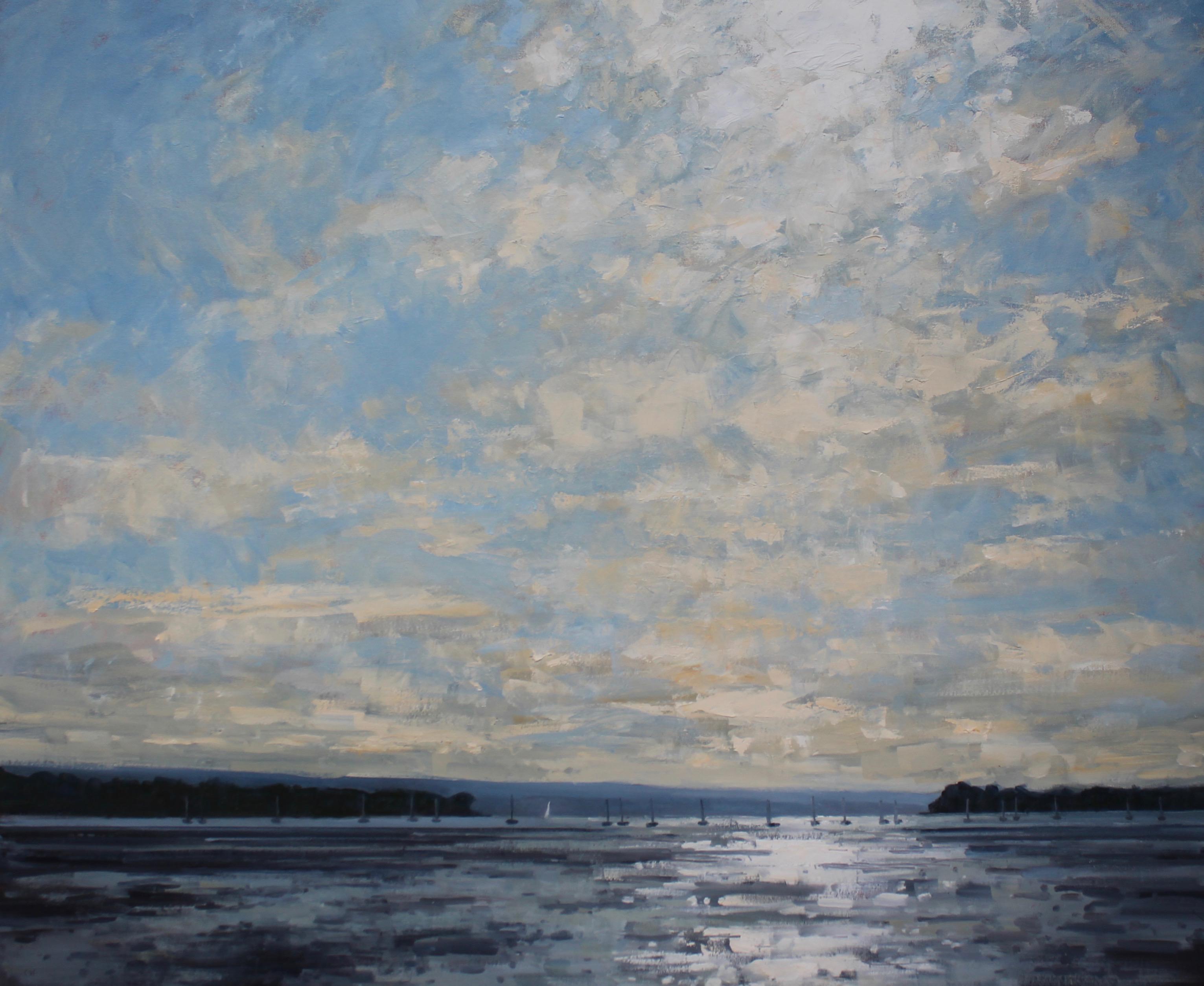 Sunlight on Poole Harbour