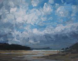 Sunshine and Clouds Porth Beach