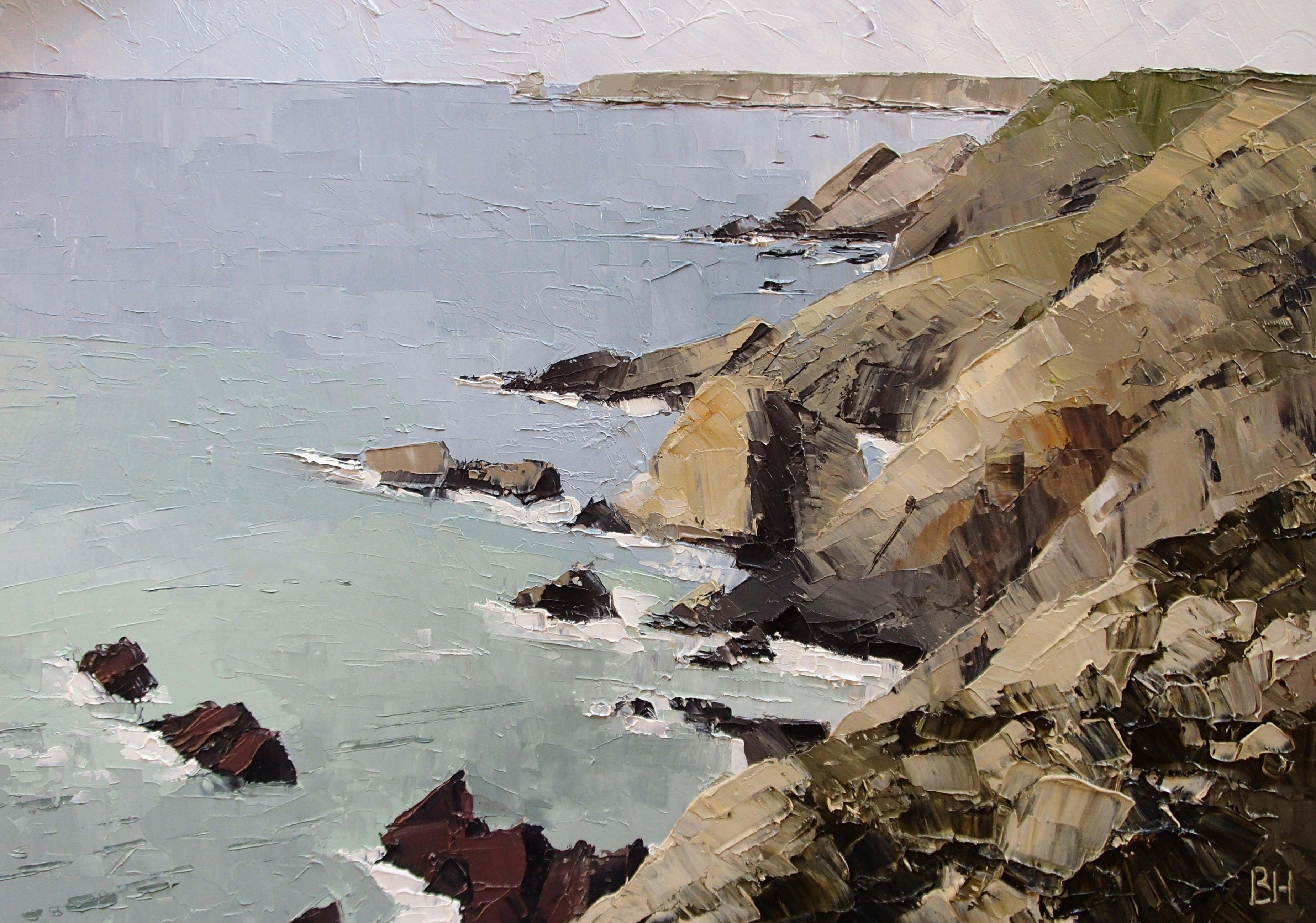 Pembrokeshire coast, Maroon and Yellow