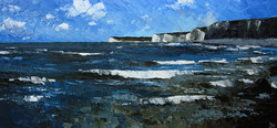 Incoming tide, Seven Sisters