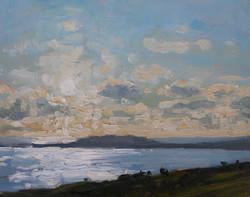 Sunlight on Weymouth Bay