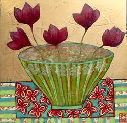 Bowl of Lotus Flowers