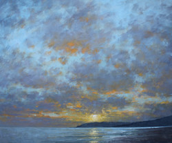 Winter Evening, Charmouth
