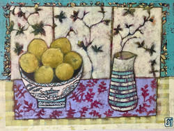 Seven lemons and Plum Blossom