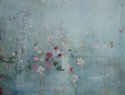 Spring Blue Floral