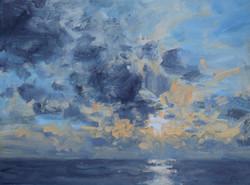 Evening Sky and Sea 119