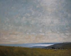 Sunlight over Lyme Bay